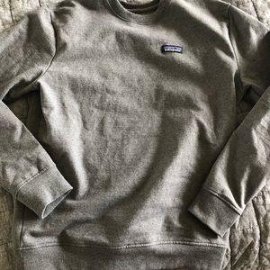 Men's Patagonia Crew Sweatshirt in Grey